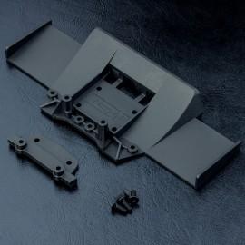 Universal rear balancing diffuser