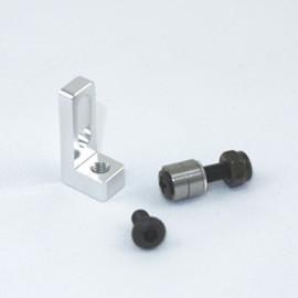 Alum. small belt pulley mount