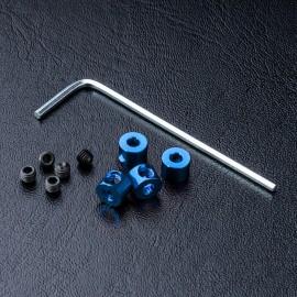 Alum. stabilizer rod stopper