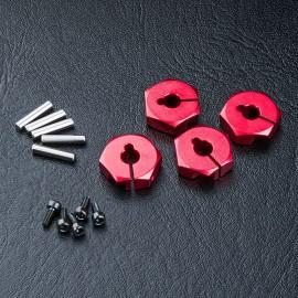 Alum. hex. wheel hubs 5mm