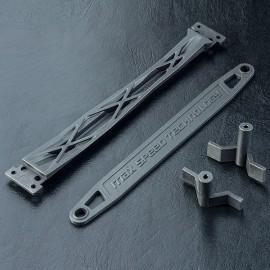 XXX Upper deck & battery strap