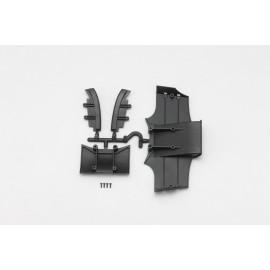 Wide/Narrow rear diffuser