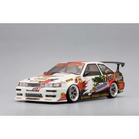 "Yokomo Toyota AE86 Levin ""SunRISE Mercury"" Body Shell"