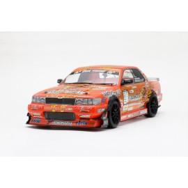"Yokomo Nissan C33 Laurel ""YUKE'S with Team Orange"" Body Shell"