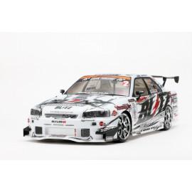 "Yokomo Nissan Skyline ER34 ""Blitz with Dunlop"" Body Shell"