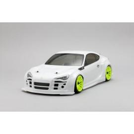 "Yokomo Toyota GT86 ""TEAM UP-GARAGE with FALKEN"" Body Shell"