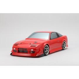 "Yokomo Nissan 180SX ""Dunlop with Koguchi Power"" Body Shell"