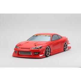"""Yokomo Nissan Silvia S15 """"Team BOSS with Potenza"""" Body Shell"""
