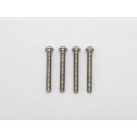 RP Screw, Titanium, M3x5, Countersunk (4)