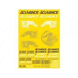 Acuvance Sticker Sheet, Gloss