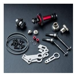 FXX 4WD Conversion Kit, Silver
