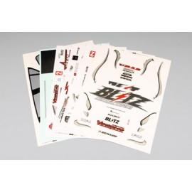 "Yokomo Mazda RX-7 FD3S ""Team A'pex"" Sticker Sheet"