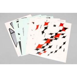 """Yokomo Nissan Skyline ER34 """"Blitz with Dunlop"""" Sticker Sheet"""