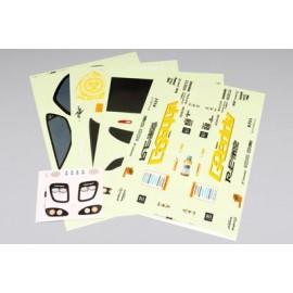 "Yokomo Nissan 180SX ""GP Sports with Toyo Tires"" Sticker Sheet"