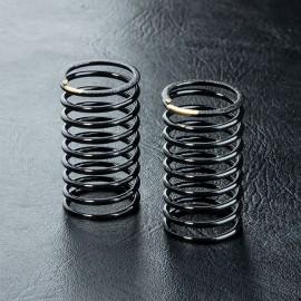 Medium coil spring 29mm, silver (2)
