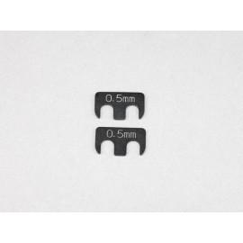 Spacere for Adjustable Suspension Arm, 0,5mm (2)