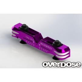 Adjustable aluminum suspension mount Type-2 (For OD / Purple)