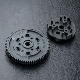 Cush drive rubber gear M06-70T