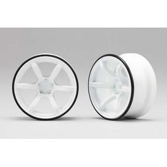 RP Hi-Traction Wheel, +6mm, White