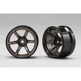 RP HI-Traction Wheel, +6mm, Titanium (2)