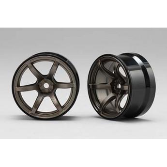RP HI-Traction Wheel, +6mm, Titanium