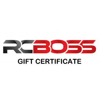 RCBOSS Gift Certificate