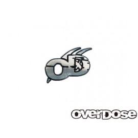 Overdose logo 3d emblem