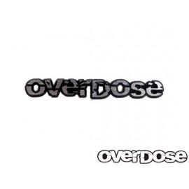 Overdose letter 3d emblem