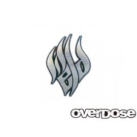 Weld flame 3d emblem