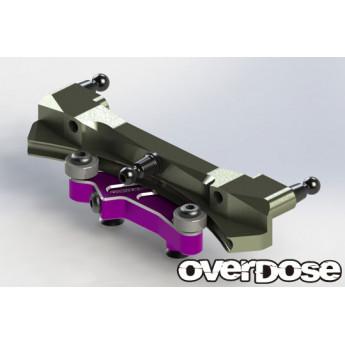 Curved slide rack steering set for GALM-Vacula II - Purple