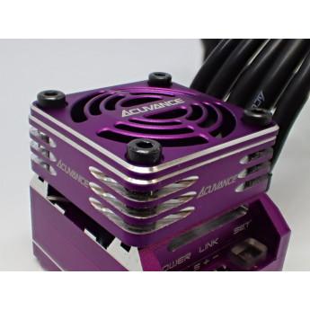 Acuvance Rey-Storm Fan, Purple