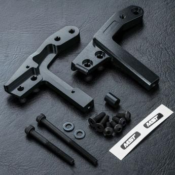 2.0 Alum. Upper Deck Support, Black